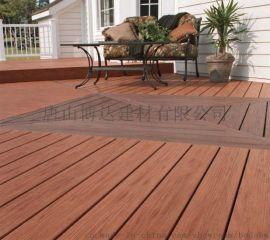 厂家直销雄安新区木塑庭院阳台空心实心户外地板