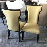 新中式實木餐椅,酒店包房椅子