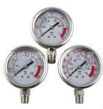耐震压力表 隔膜压力表 膜设备专用