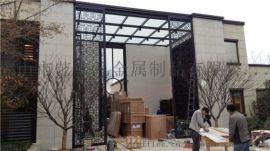 赣州中式不锈钢格栅 酒店简约不锈钢屏风隔断