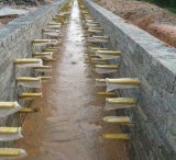 玻璃鋼複合材料直埋式電纜支架專業定製