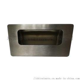不锈钢拉丝暗式拉手 工业304隐藏式嵌入抽屉把手