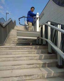 泰安市景区斜挂式轮椅电梯残疾人自动升降台斜挂机械