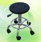 氣動防靜電圓凳 防靜電可升降凳子 PU防靜電圓凳