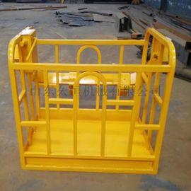 吊车专用吊篮 外墙修补粉刷吊车吊框厂家