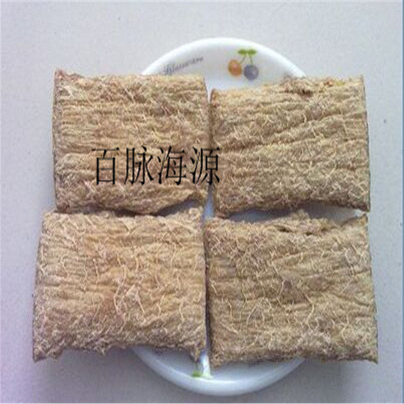 新型大豆组织蛋白 拉丝蛋白生产线 素肉生产设备