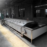 蘋果片漂燙護色機 自動隧道漂燙護色設備 蒸煮機