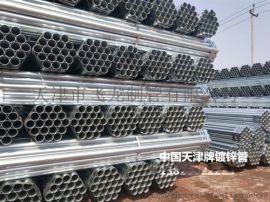 中国天津牌镀锌管