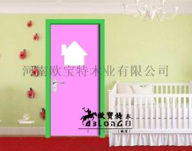 湖北  设计幼儿园门 幼儿园套装门生产厂家 供应