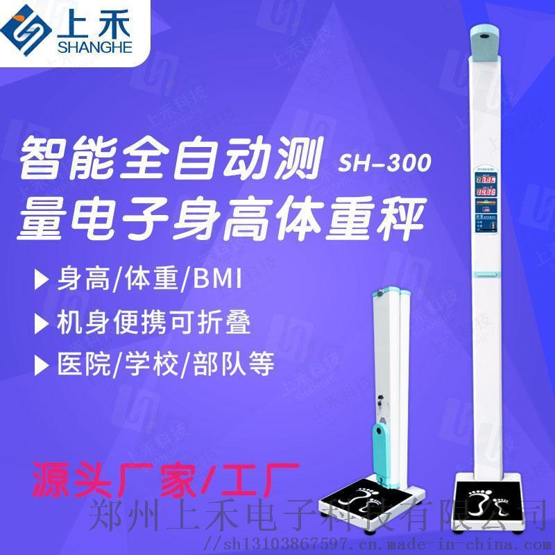 超声波身高体重测量仪 SH-300全自动身高体重秤