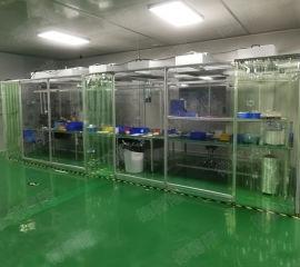 珠海流水线工位千级洁净棚安装