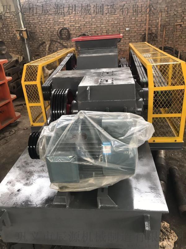 單電機對輥破碎機的工作原理2PG600*900