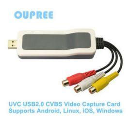 欧柏锐品牌USB/CVBS/UVC安卓苹果免驱动采集卡,系统集成UVC
