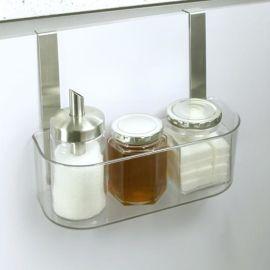 厨房用品大容量  承重力储物架/收纳整理置物架批发/创意家居用品韩式收纳盒挂门