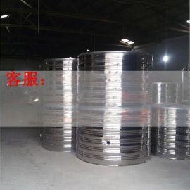 鼎热圆形水箱不锈钢材质
