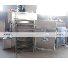 供应150型哈尔滨红肠烘干机  304不锈钢台烤炉  烧肉鸡爪烟熏炉厂家直销热卖中