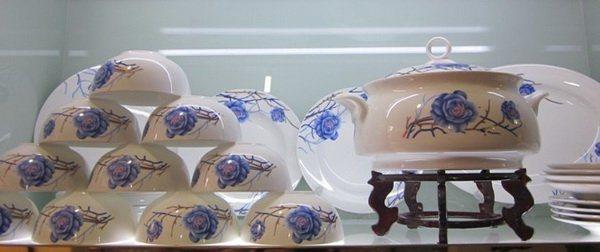 陶瓷餐具, 景德镇餐具,骨瓷餐具