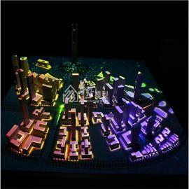 智能数字投影沙盘数字展厅模型巴林湾城市规划沙盘模型