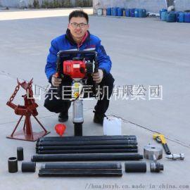 20米土壤採樣設備QTZ-3型淺層土樣鑽機取樣完整