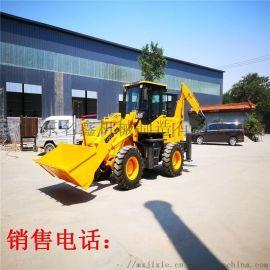 工程农用装载挖掘两头忙 前装载后挖掘两头忙