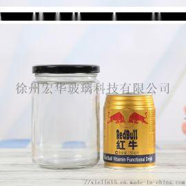 玻璃罐頭瓶 500ml黃桃罐頭玻璃瓶