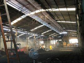 陶瓷厂石材厂建材厂  喷雾降温加湿除尘加湿机
