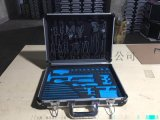 长45宽33高11pvc面板铝箱 铝合金边框铝合金大k型箱 模型工具板eva模型pvc工具板模型工具箱