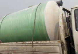化粪池 玻璃钢处理污水化粪池 模压储水罐清掏