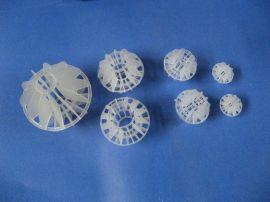 废气净化塔用多面空心球鲍尔环泰勒花环填料(50)