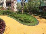 關於現代化城市建設中彩色透水地坪的應用及道路建設的成本控制,藝術地坪取代普通地坪的優勢