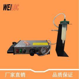 厂家**手动点胶机982半自动小型注胶机脚踩式热熔胶设备平台