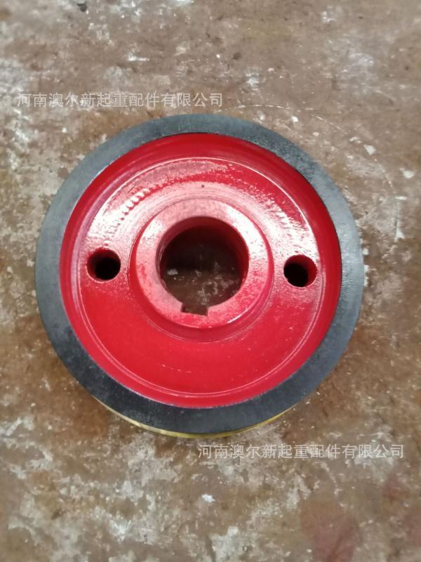 供应350单边主动轮 铸钢55号 起重机行走轮