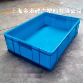 塑料周转箱, 塑料蓝色周转箱,塑料包装箱