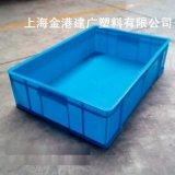 塑料週轉箱, 塑料藍色週轉箱,塑料包裝箱
