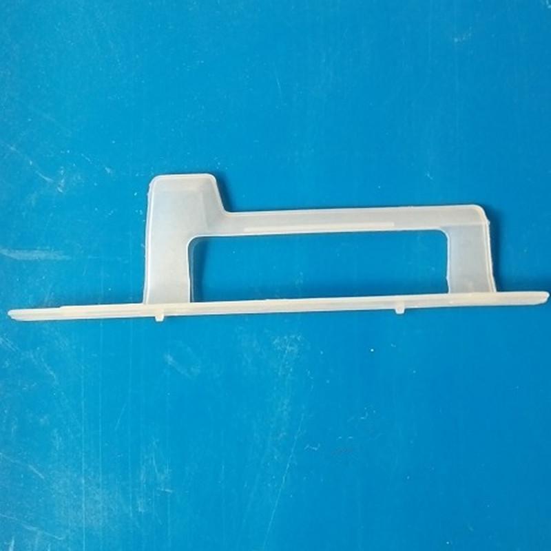 厂家直销 塑胶卡片夹 21*60标牌夹 产品名片夹 品质保证量大优惠