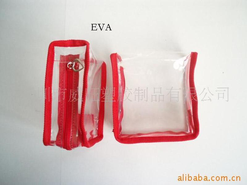 供应 pvc入水袋 PVC拉链袋