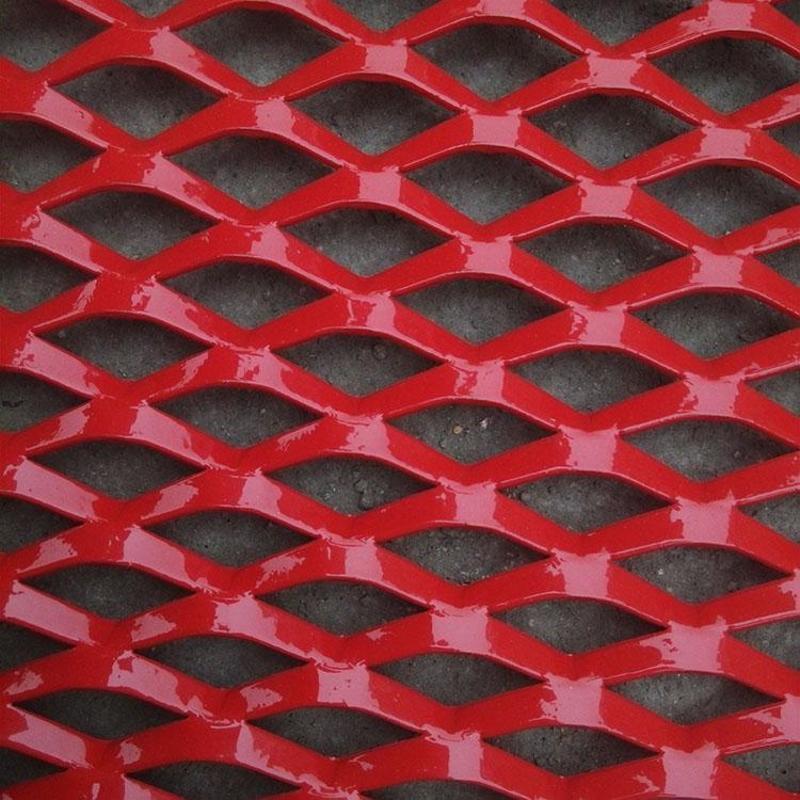 吊顶铝板网 出口铝板网 铝板装饰网