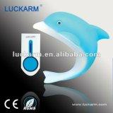 2013海豚夜灯无线门铃