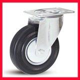 3吋-10吋钢毂黑橡胶轮 防静电(导电)脚轮