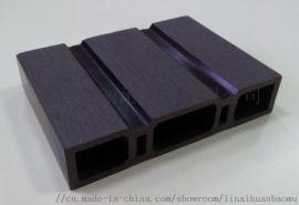 丽耐木塑地板136H30生产线