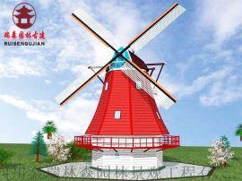 内江水车厂家、荷兰风车、仿古景观水车设计定制