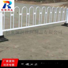 哈尔滨市政交通护栏 道路交通市政马路隔离锌钢护栏