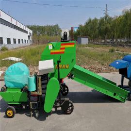 全自动青储打捆机,玉米秸秆打捆机