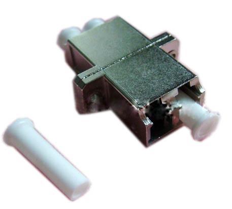 優質 LC-LC 雙工 雙聯 光纖金屬光纖適配器