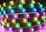 SMD5050LED软灯带,数字点控灯带,WS2801IC幻彩灯条,像素灯条