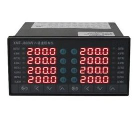 XMT-J800W系列双华8通道温控仪表