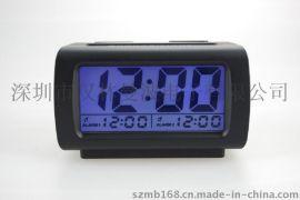 定制批发 方形带LED夜光闹钟 时间座钟 贪睡聪明钟电子钟 SL1623