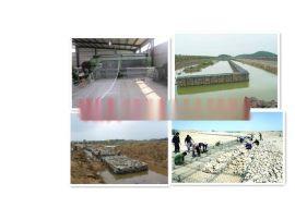 河道岸边景观建设治理格宾网  堤坝加固镀锌格宾石笼  护岸护坡锌铝合金覆塑格宾垫