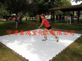 最新仿真冰溜冰场白色PE耐磨塑料板 自润滑