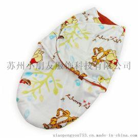 2015婴儿双层襁褓  婴幼儿睡袋 宝宝可爱印花包被 多款可选